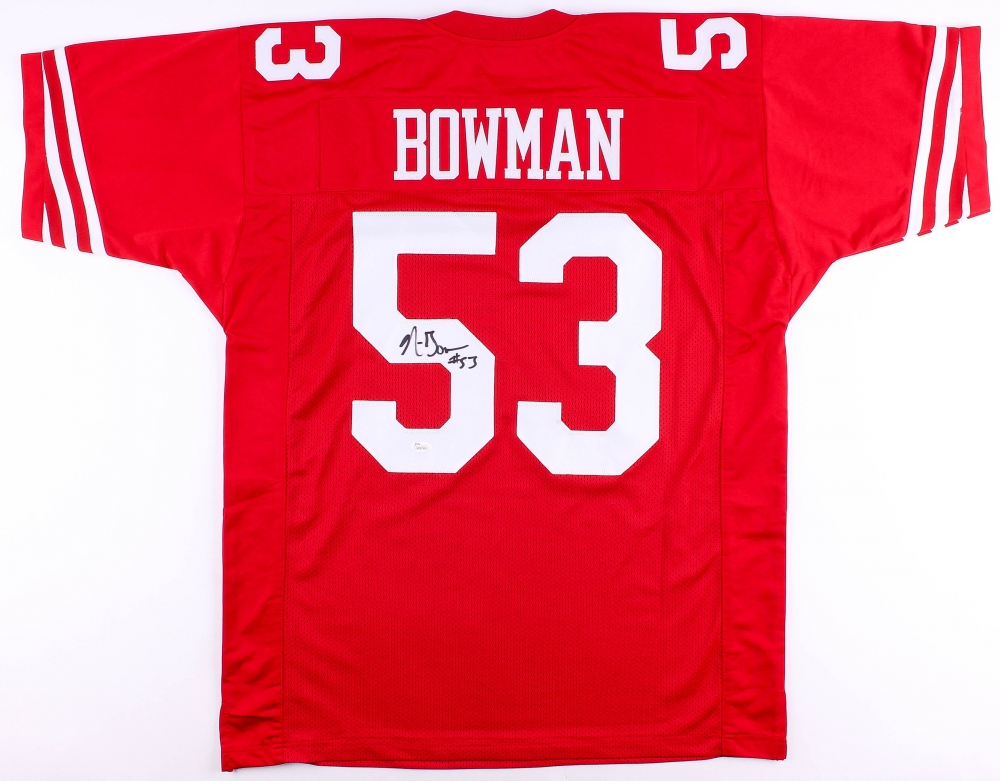 NaVorro Bowman Signed 49ers Jersey (JSA COA) at PristineAuction.com 978589a6d