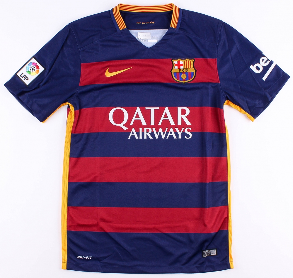 7cd76b5c4 Neymar Jr. Signed Barcelona Jersey (Neymar COA) at PristineAuction.com