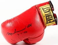 "Muhammad Ali Signed Everlast Boxing Glove Inscribed ""6-4-89"" (JSA ALOA)"