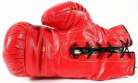 "Muhammad Ali Signed Everlast Boxing Glove Inscribed ""6-4-89"" (JSA ALOA) at PristineAuction.com"