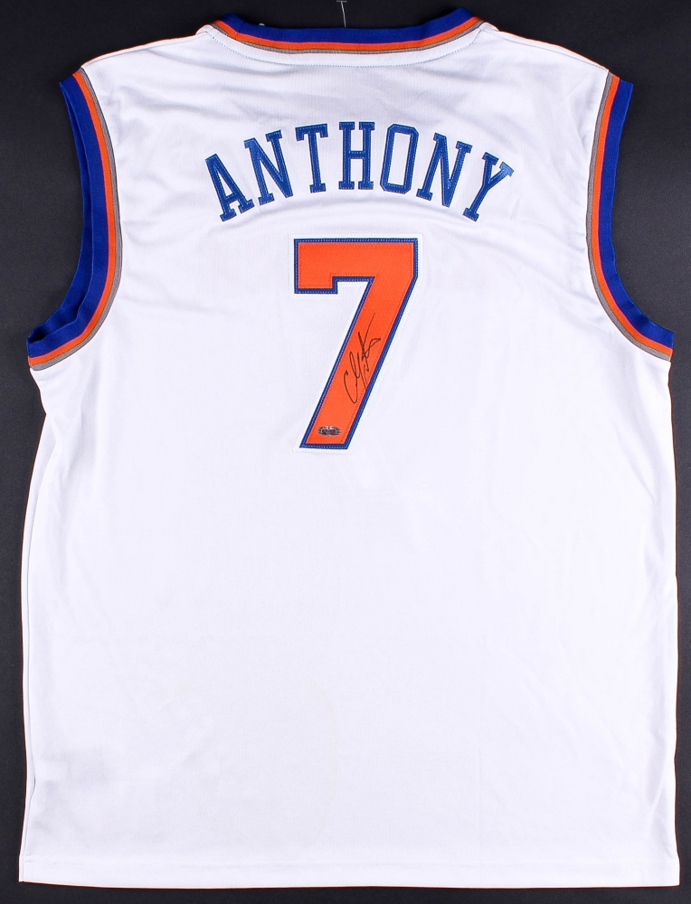 competitive price 7636d 0eada inexpensive carmelo anthony signed jersey 4fb9b 7a0db