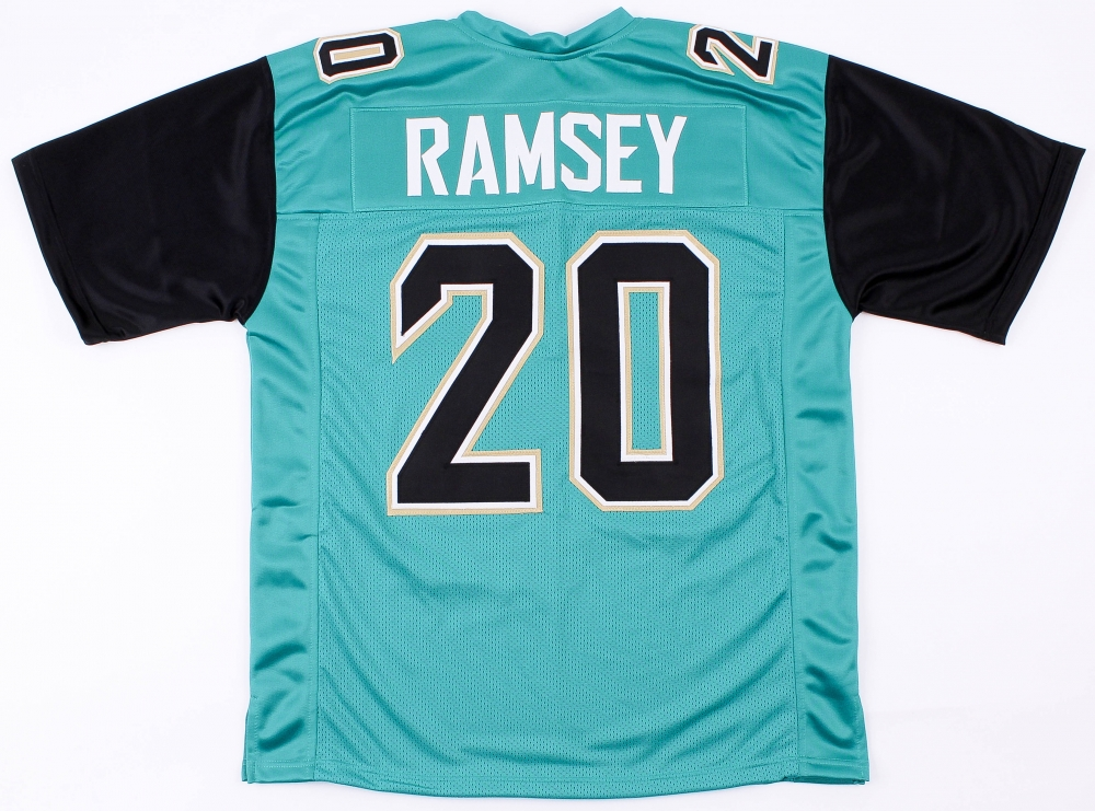 Jalen Ramsey Jaguars On-Field Style Custom Stitched Jersey (Size XL) at  PristineAuction 74c095e2f