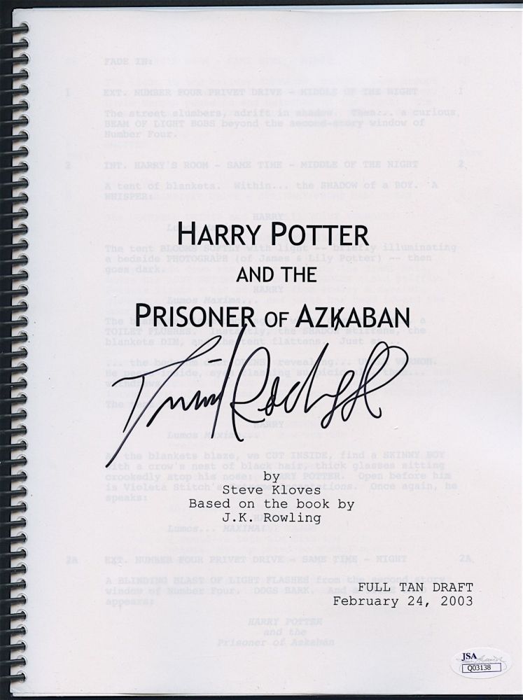 Daniel Radcliffe Signed   Harry Potter Resume