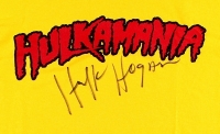 Hulk Hogan Signed Hulkamania T-Shirt (Schwartz COA) at PristineAuction.com