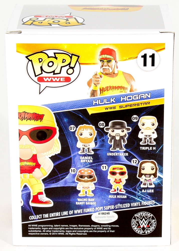 2funko pop hulk hogan wwe exclusive