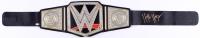 Hulk Hogan Signed WWE Championship Belt (Schwartz COA)