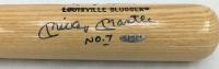 "Mickey Mantle Signed LE Custom Engraved Louisville Slugger Baseball Bat Inscribed ""No. 7"" (UDA Hologram)"