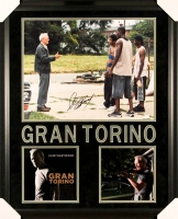 "Clint Eastwood Signed ""Gran Torino"" 27x33 Custom Framed Photo Display (PSA COA) at PristineAuction.com"