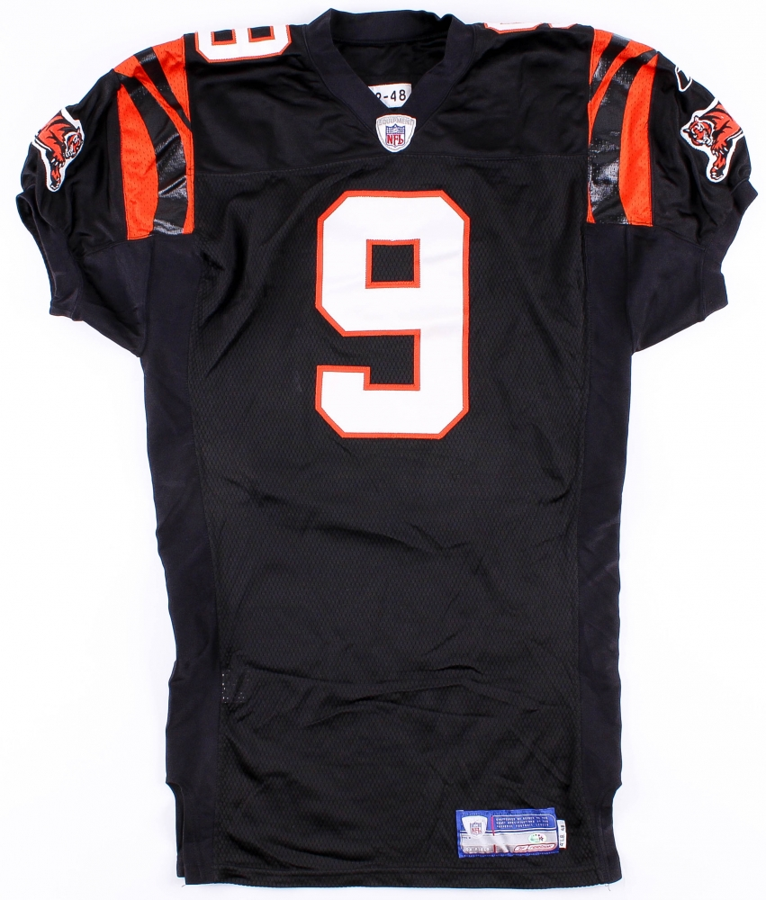 Carson Palmer Signed Game Worn Bengals Rookie Jersey (Player COA ...
