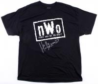 "Hulk Hogan Signed New World Order T-Shirt Inscribed ""Hollywood"" (Schwartz COA)"