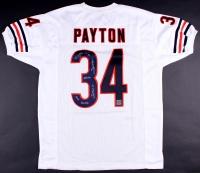 Walter Payton Signed Bears Jersey with (5) Inscriptons (Payton Hologram & PSA LOA)
