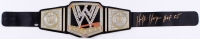 "Hulk Hogan Signed WWE Championship Belt Inscribed ""HOF 05"" (Schwartz COA)"