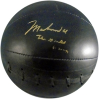 "Muhammad Ali Signed Full-Size Everlast Medicine Ball Inscribed ""The Greatest"" (JSA LOA)"