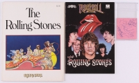 The Rollings Stones Signed 3x3 Cut with (5) Signatures Including Mick Jagger, Keith Richards, Bill Wyman, Brian Jones & Charlie Watts (JSA LOA)