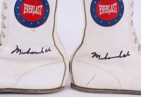 Muhammad Ali Signed Pair of (2) Vintage Everlast Boxing Boots (JSA LOA) at PristineAuction.com