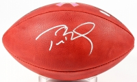 "Tom Brady Signed Breast Cancer Awareness ""The Duke"" NFL Official Game Ball (TriStar Hologram)"