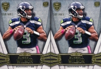 Lot of (2) Russell Wilson 2012 Topps Supreme #23 RC