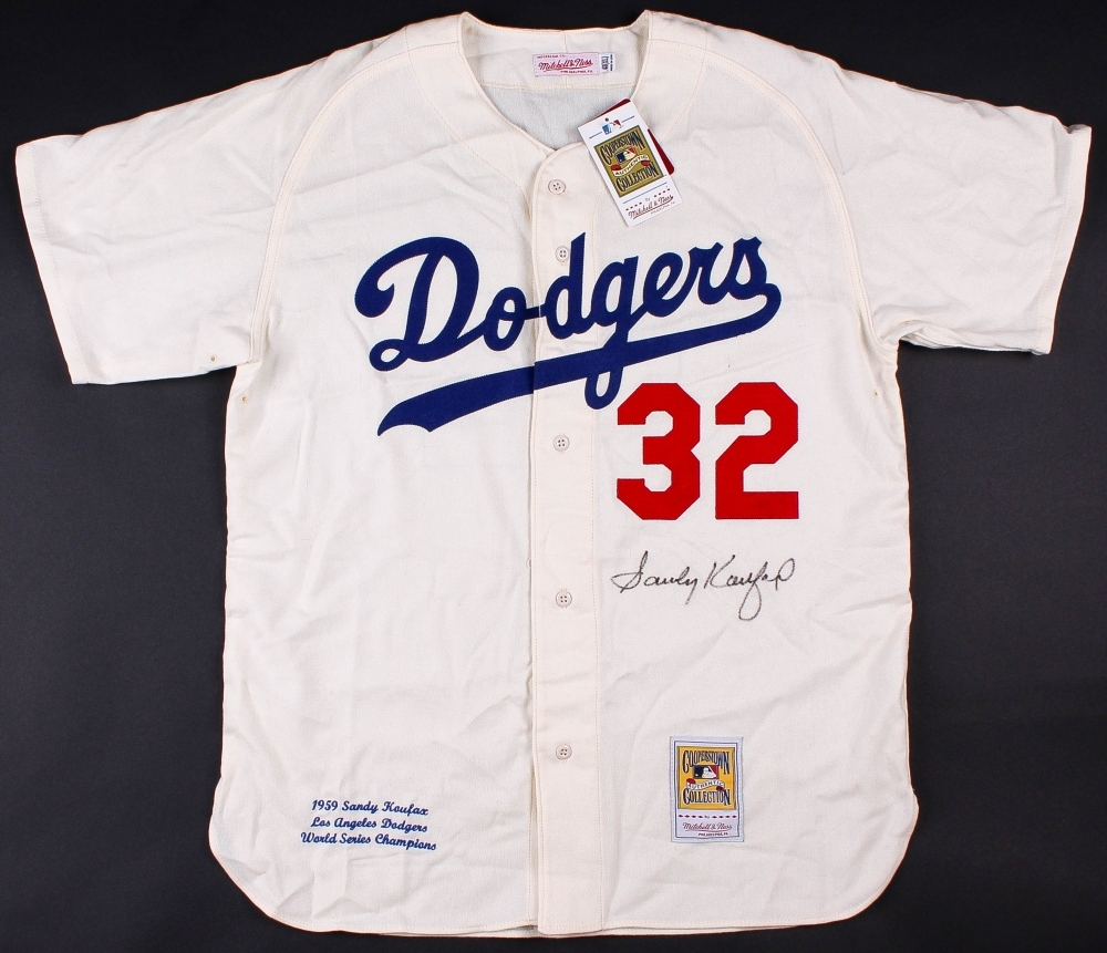 7a2ac9931 ... where to buy sandy koufax signed dodgers 40 sandy koufax signed dodgers  mitchell and ness authentic