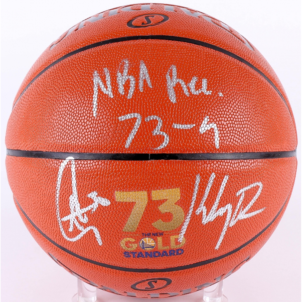 6ce84be43c2 Stephen Curry   Klay Thompson Signed