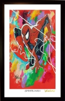 Spider-Man 11x17 Signed Winford Lithograph (Winford COA)