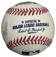 "Billy Williams Signed OML Baseball Inscribed ""HOF 87"" (JSA COA) at PristineAuction.com"