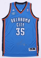 "Kevin Durant Signed LE Thunder Adidas Jersey with 2013-2014 MVP Patch Inscribed ""13-14 MVP"" (Panini COA)"