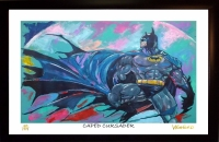 "Batman 11x17 ""Caped Crusader"" Signed Winford Limited Edition Lithograph #/199 (Winford COA)"