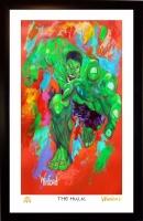 "Hulk 11x17 ""The Hulk"" Signed Winford Limited Edition Lithograph #/199 (Winford COA)"