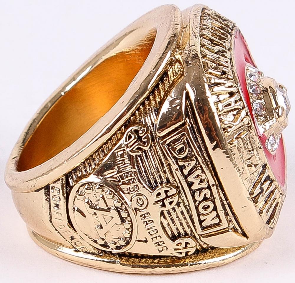 983a51e4bf8 Len Dawson 1969 Kansas City Chiefs Super Bowl IV Championship Replica Ring  at PristineAuction.com