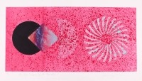 "James Rosenquist Signed 1977 ""The Book Disappears for the Fast Student"" 22x39 LE Etching & Aquatint #30/78 (PA LOA)"