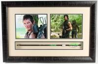 "Norman Reedus Signed ""Walking Dead"" 19x29 Custom Framed Arrow Display (Radtke COA)"