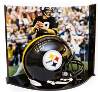 "Terry Bradshaw Signed LE Steelers Full-Size Authentic Pro-Line Helmet Inscribed ""4x SB Champs,"" ""2x SB MVP"" & ""78 MVP"" With Custom Curve Display Case (Steiner COA & Bradshaw Hologram)"