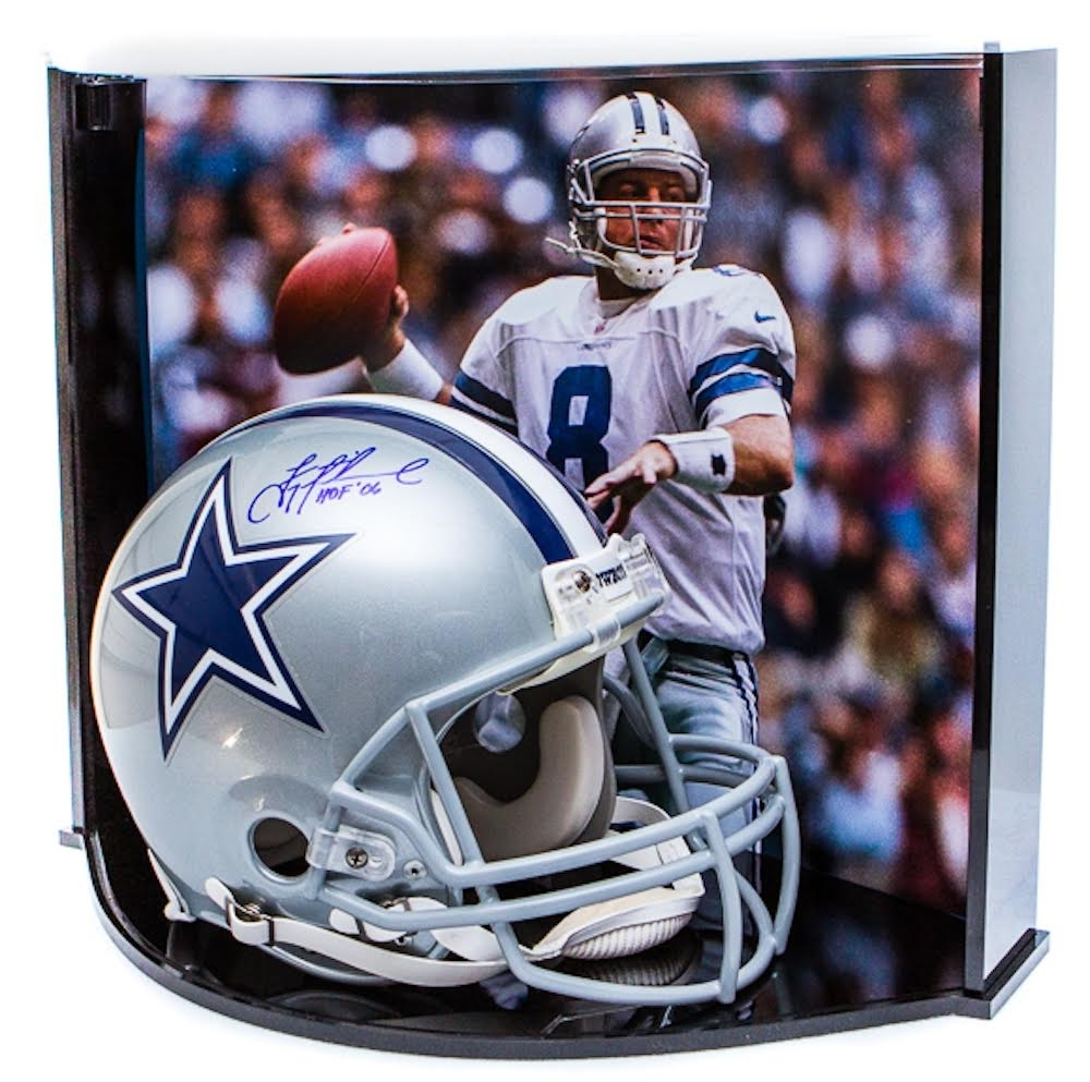 430c40e2f7e Troy Aikman Signed LE Cowboys Full-Size Authentic Pro-Line Helmet Inscribed
