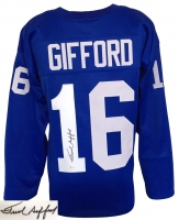 Frank Gifford Signed Giants Jersey (JSA COA) at PristineAuction.com