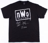 "Scott Hall, Sean ""X-Pac"" Waltman & Kevin Nash Signed New World Order T-Shirt (MAB Hologram)"