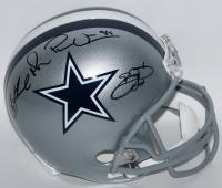 Emmitt Smith, Troy Aikman & Michael Irvin Signed Cowboys Full-Size Helmet (Radtke COA, Aikman & Smith Hologram)