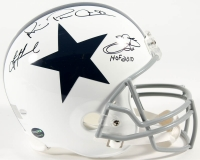 "Emmitt Smith, Troy Aikman & Michael Irvin Signed Cowboys Thanksgiving Full-Size Helmet Inscribed ""HOF 2010"" (Smith, Aikman, Irvin & Prova Holograms)"