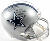 "Emmitt Smith Signed Cowboys Full-Size Helmet Inscribed ""All Time Leading Rusher 18,355 Yds""  (Prova Hologram & Smith Hologram)"