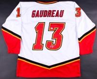 Johnny Gaudreau Signed Flames Jersey (JSA)