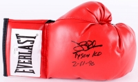 "James ""Buster"" Douglas Signed Everlast Boxing Glove Inscribed ""Tyson KO 2-11-90"" (JSA COA)"