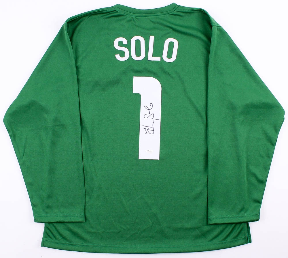 ce5b83fd5d2 Hope Solo Signed Team USA Soccer Jersey (JSA COA) at PristineAuction.com