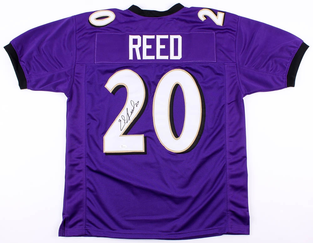 9ed56beddb1 Ed Reed Signed Ravens Jersey (JSA COA) at PristineAuction.com