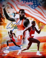Carl Lewis Signed 8x10 Photo (JSA COA) at PristineAuction.com