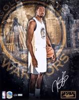 Kevin Durant Signed LE Warriors 16x20 Photo (Panini COA)
