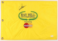 Arnold Palmer Signed Bay Hill Invitational Pin Flag (JSA LOA)