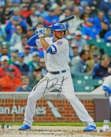 Kris Bryant Signed Chicago Cubs Batting Action 16x20 Photo at PristineAuction.com