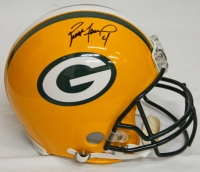 Brett Favre Signed Green Bay Packers Riddell Pro Helmet at PristineAuction.com