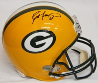 Brett Favre Signed Green Bay Packers Riddell Full Size Replica Helmet at PristineAuction.com