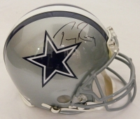 Tony Romo Signed Cowboys Riddell Authentic Pro Helmet at PristineAuction.com
