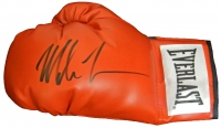 Mike Tyson Signed Everlast Red Full Size Boxing Glove at PristineAuction.com